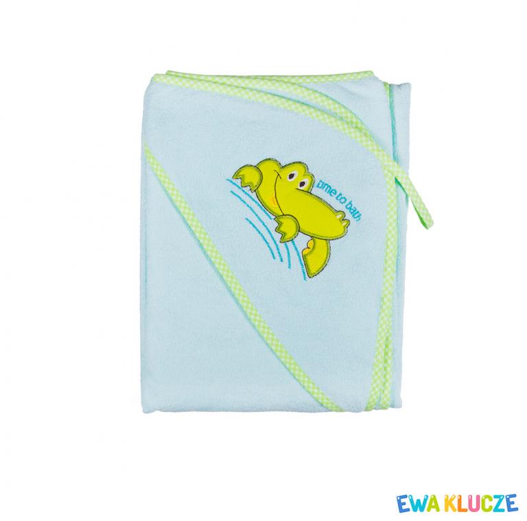 EWA KLUCZE Okrycie kąpielowe dla dzieci 100x100cm