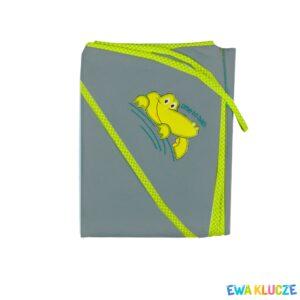 EWA KLUCZE Okrycie kąpielowe dla dzieci z kapturkiem 100x100cm