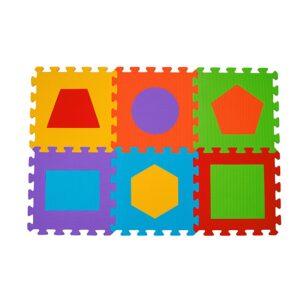 BABY ONO Puzzle piankowe Figury 6szt. nr. kat. 279