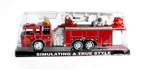 MEGA CREATIVE Auto plastikowe Straż Pożarna 297589
