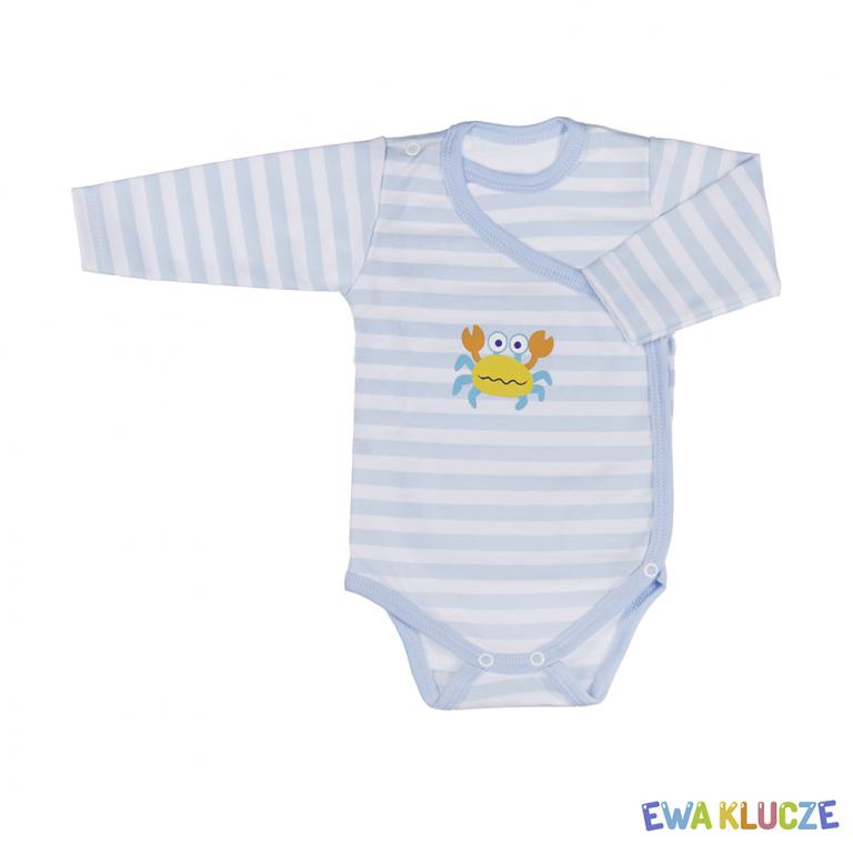 EWA KLUCZE Body bawełniane chłopięce Tropical 68-86cm