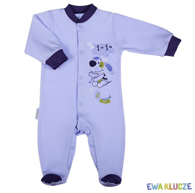 EWA KLUCZE Pajacyk niemowlęcy Miś 56-104cm