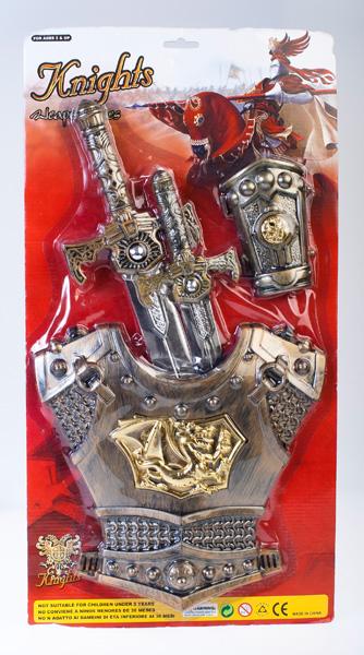 MEGA CREATIVE Zestaw zbroja rycerska 6641B BC 18/36