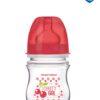 CANPOL Butelka antykolkowa 120ml Owoce 35/212