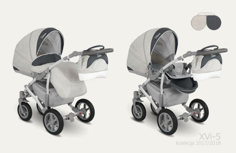 CAMARELO VISION XVi Wózek wielofunkcyjny dla dzieci 2w1 lub 3w1
