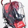 CARETERO Folia przeciwdeszczowa uniwersalna na wózek spacerowy