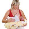 TY I MY Obszycie na poduszkę, rogal do karmienia dziecka