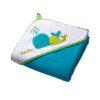 BABY ONO Okrycie kąpielowe welur 137 z kapturkiem 76x76