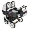 DORJAN DANY SPORT 5 TWIN Wózek wielofunkcyjny dla bliźniaków