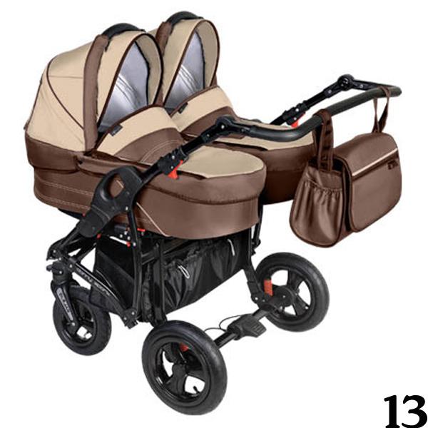 DORJAN DANNY SPORT 5 TWIN Wózek wielofunkcyjny dla bliźniaków
