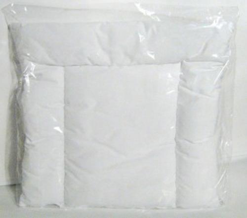 Kieczmerski Poduszka płaska z białej bawełny 40x40cm typ A