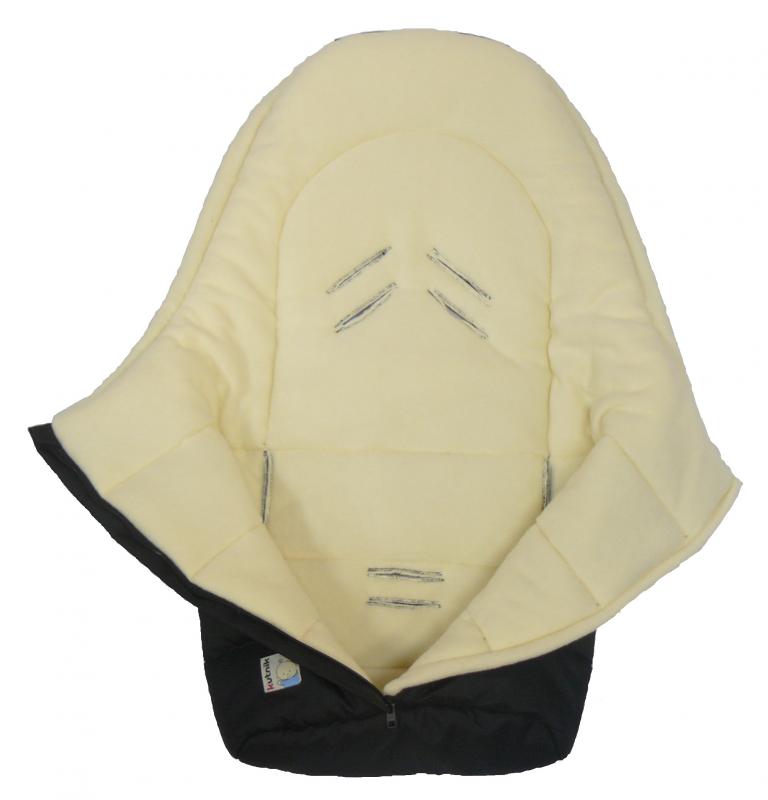 KUTNIK PARTNER Śpiworek niemowlęcy Polar do fotelika lub wózka