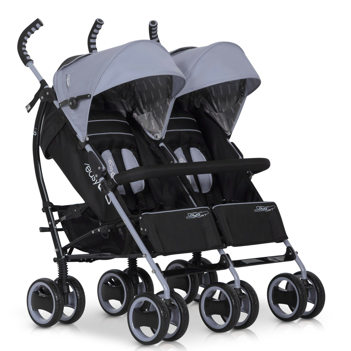 EASYGO DUO COMFORT 2016 Wózek spacerowy dla bliźniąt