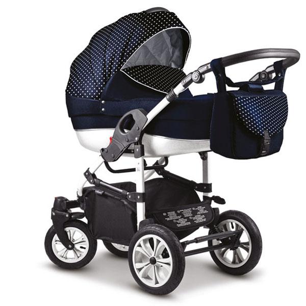 MIKADO CITI CAR Wielofunkcyjny wózk dziecięcy 2w1 lub 3w1