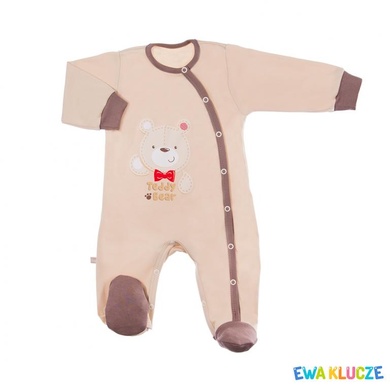 EWA KLUCZE Pajacyk niemowlęcy Taddy Bear 56-74cm