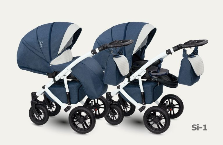 CAMARELO SIRION XSI Wózek wielofunkcyjny dla dzieci 2w1 lub 3w1