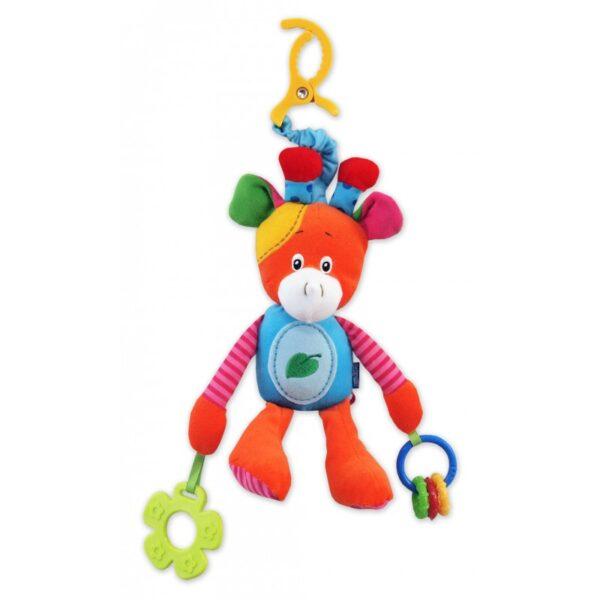 BABY MIX Zabwka podróżna Żyrafka TE-8203-23G