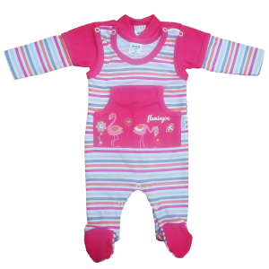 SZWAT Komplet Kieszonka śpioch + kaftan 2364 niemowlęcy 56-62cm