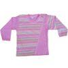 Bluzka dziewczęca bawełniana Paski rozmiar 104