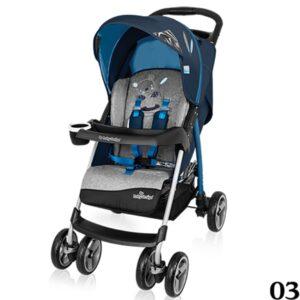 BABY DESIGN WALKER LITE Wózek spacerowy z pełną rączką