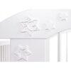 KLUPŚ Łóżeczko Radek VII z szufladą biały 120x60cm