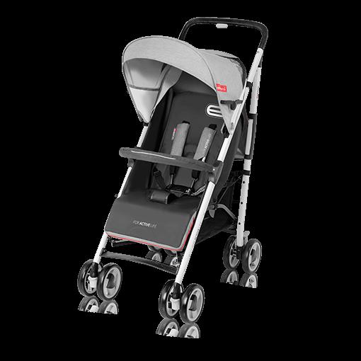 ESPIRO ENERGY Lekki wózek spacerowy na każdy teren wygodny i zwrotny