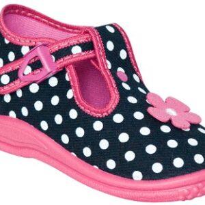 ZETPOL Poniemowlęce obuwie dziewczęce Daria Granatowa 5015