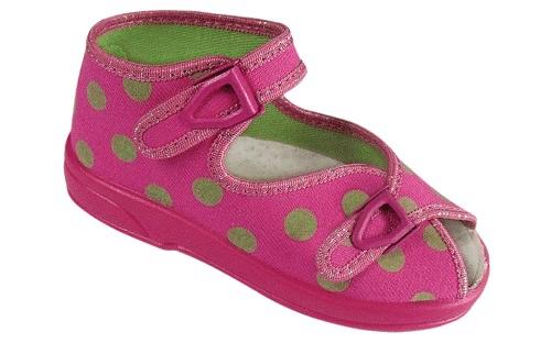 ZETPOL Poniemowlęce obuwie dziewczęce Łucja 2540