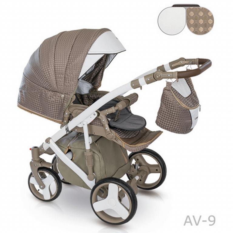 CAMARELO AVENGER Wózek wielofunkcyjny 2w1 lub 3w1