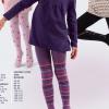 Rajstopy bawełniane komputerowe dla dziewcząt 501 004G REWON 56-134cm