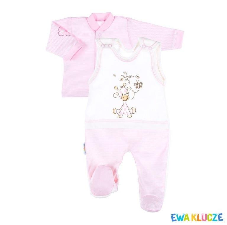 EWA KLUCZE Komplet niemowlęcy BE HAPPY 2 części 56-62cm