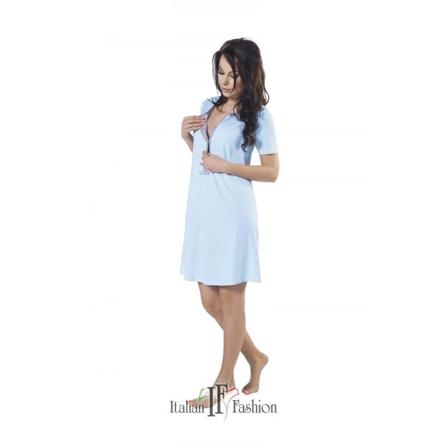 ITALIAN FASHION SURI Koszula nocna dla kobiet ciężarnych i karmiących kr. rękaw