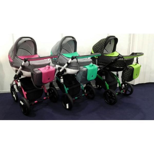 CONECO LA VITA Wózek wielofunkcyjny 2w1 lub z fotelikiem KITE 0-13 kg