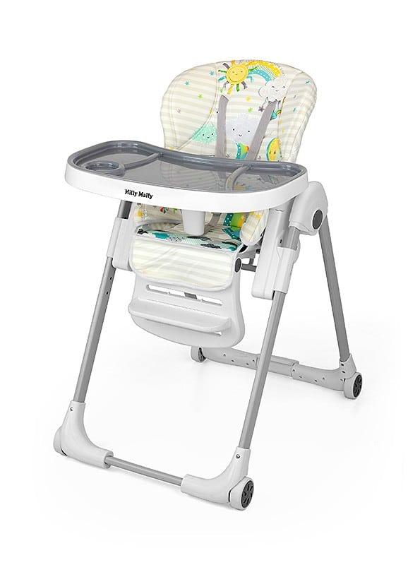 MILLY MALLY MILANO Krzesełko do karmienia dzieci 6-36 miesięcy