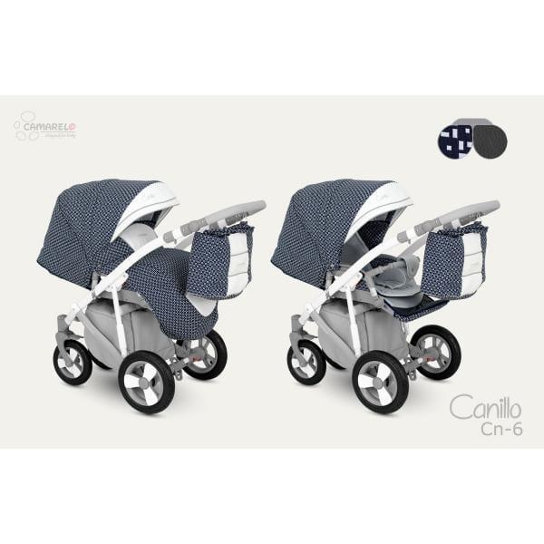 CAMARELO CANILLO Wózek wielofunkcyjny z opcją fotelika-nosidełka