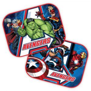 Zasłonki samochodowe Avengers
