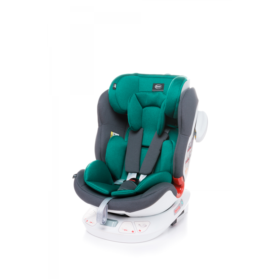 4BABY SPACE-FIX FOTELIK 0-36KG TURKUS